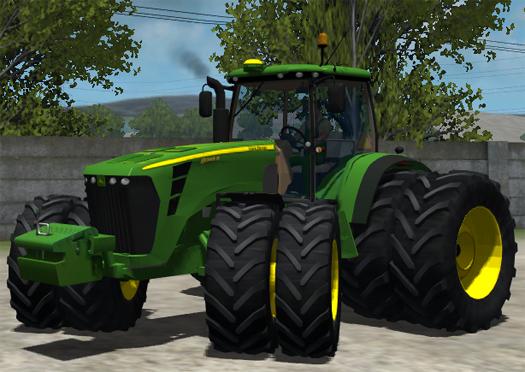 John Deere Tractor Games