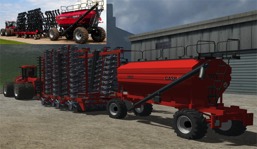 Case IH Air Cart Lineup With Precision Air 3580