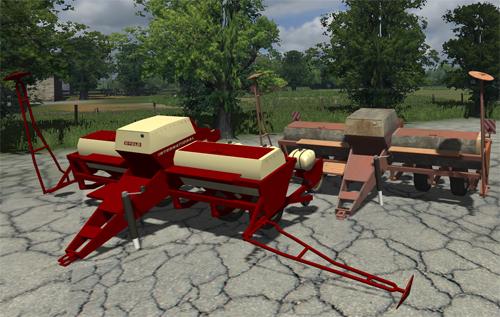 IH 400 Cyclo Planter Pack