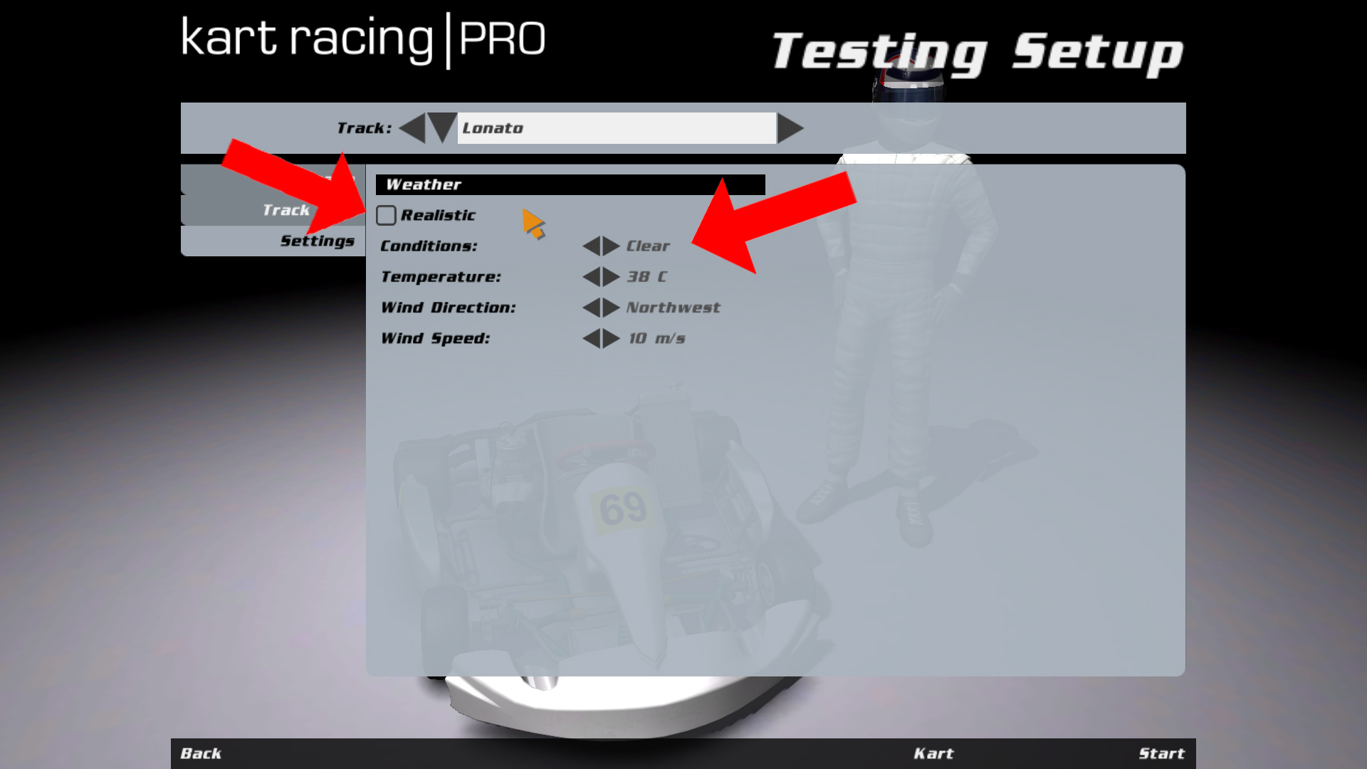 kart racing pro license key free