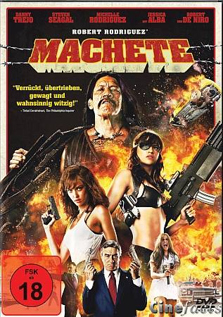 Cover: Machete.German.2010.DL.PAL.DVDR-QoM